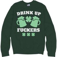 St Patty's Drink Up