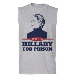 Hillary Clinton in Prison 2016