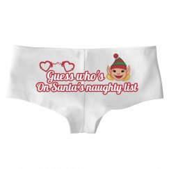 Naughty List Panties