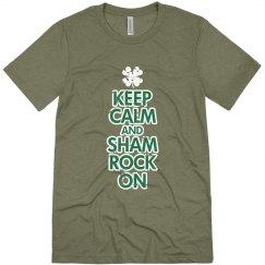 Keep Calm Shamrock St Patricks