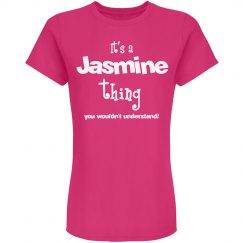 It's a jasmine thing