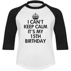 15th birthday