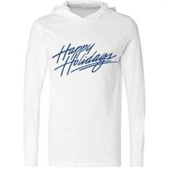 Happy Holiday Hoodie Men