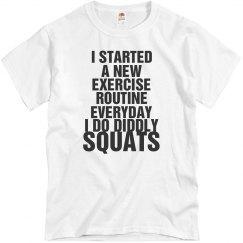 New Exercise Routine...