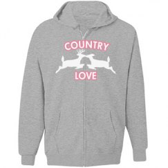 country love zip up