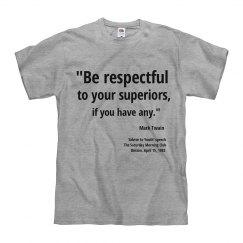 Twain advice to youth