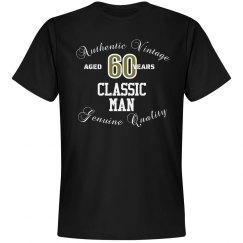 Authentic Vintage 60 classic man shirt