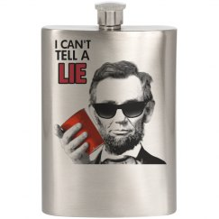 Abraham Lincoln Flask