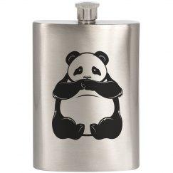 Panda Bear Flask
