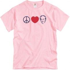 Peace Love Ron Paul