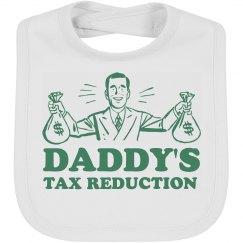 Tax Reduction Baby Bib
