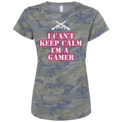 Can't keep calm gamer tee