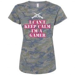 Can't keep calm gamer tee