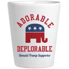 Adorable Deplorable Trump Supporter