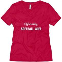 Officially Softball Wife