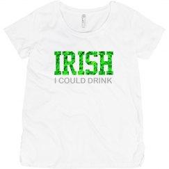 Irish Wish I Could Drink