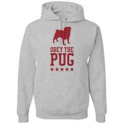 Obey the Pug Hoodie