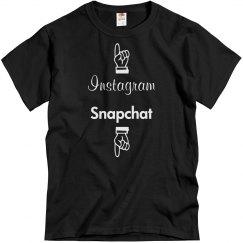Instagram or Snapchat