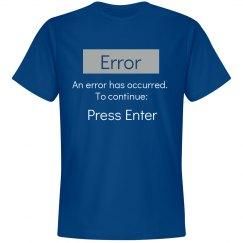 Press Enter T-Shirt