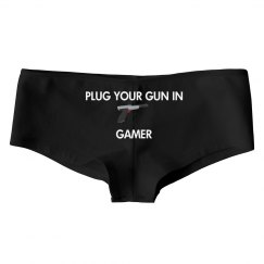 Plug Your Gun In Gamer