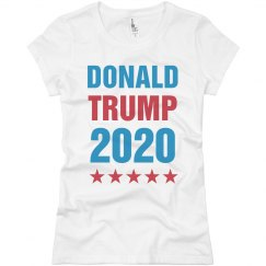 Trump 2016 Ladies Top