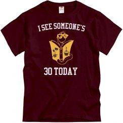 I see someones 30
