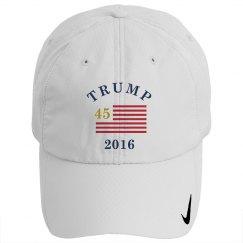 Trump 45th Presidential Golf Cap