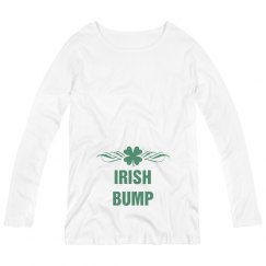 Irish Bump Maternity Shirt St. Patricks Day