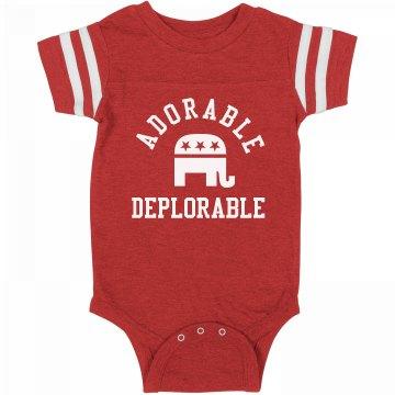 Adorable Deplorable Baby Onesie