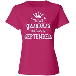 The best grandmas are born in september