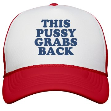 Anti-Trump Pussy Grabs Back Hat