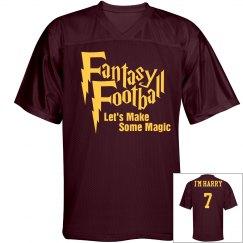 Fantasy Wizard w/ Back