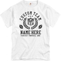 Custom Team Fantasy Football FFL