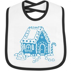 Gingerbread House Bib