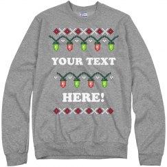 Custom Stranger Ugly Sweater