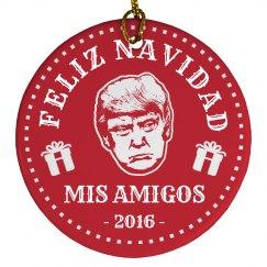 Donald Trump Feliz Navidad