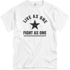Live And Fight As One