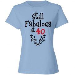 Still Fabulous at 40