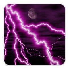 Purple Lightning Magnet