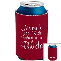 Last Ride Before A Bride