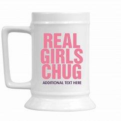 Real Girls Chug Beer