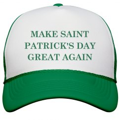 Funny St. Pat's Day Great Again
