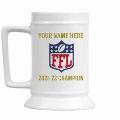 Fantasy Football Champion's Stein