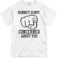 Romney Not Concerned