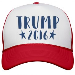 Text Trump 2016 Hat