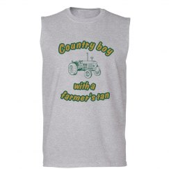 Country Boy Muscle Shirt