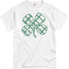 Trendy Irish Clover St Patricks
