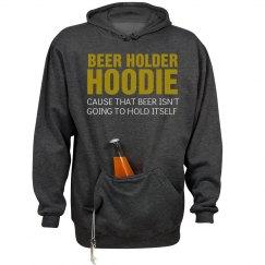 Beer Holder Hoodie...