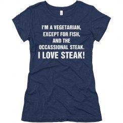 Penny Loves Steak