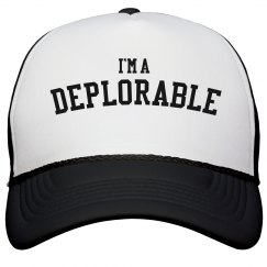 I'm A Deplorable Supporter Of Trump